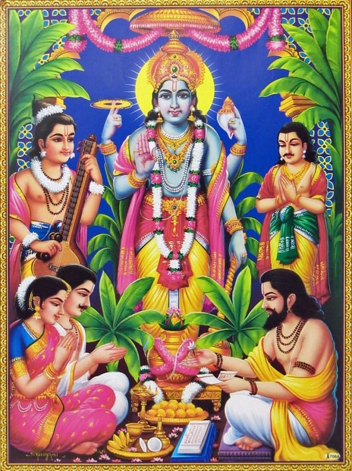 Karthika Masam - Sri Satyanarayana swamy vratam by individuals